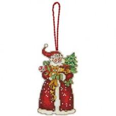 Игрушка на елку Санта (70-08895)**