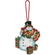 Игрушка на елку Снеговик (70-08896)