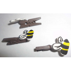 Мини-прищепка декоративная, Пчелка (27536)