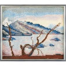 Набор для вышивания бисером Горное озеро (В-035)