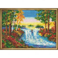Набор для вышивания бисером Лесной ручей (В-042)
