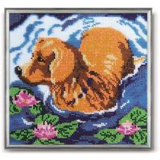 Набор для вышивания бисером Голубая прохлада (В-110)