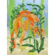 Набор для вышивания бисером Золотая рыбка (В-216)*