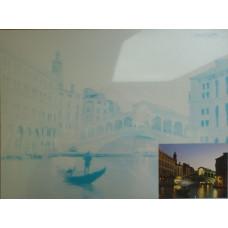 Холст на картоне с эскизом Пейзаж. Венеция (283614)