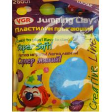 Прыгающий пластилин, голубой (26001)
