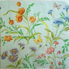 Салфетка Цветочный калейдоскоп (1256)