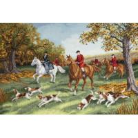 Набор для вышивания крестиком Чарівна мить Охота на лис (М-471)