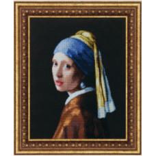 Девушка с жемчужной серьгой (По мотивам Я. Вермеера ) (М-66)