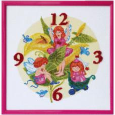 Часы Цветочные эльфы (М-84)