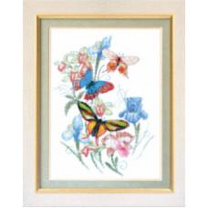 Набор для вышивания крестиком Чарівна мить Бабочки (М-48)