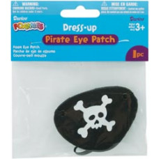 Пиратская повязка на глаз (1052-80P)