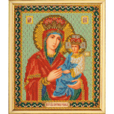 Набор для вышивания бисером Икона Богородица Споручница Грешных (В-169)