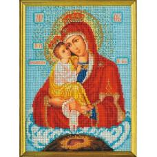 Набор для вышивания бисером Икона Богородица Почаевская (В-170)