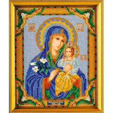 Икона Богородица Неувядаемый цвет (В-171)