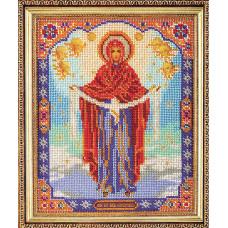 Набор для вышивания бисером Икона Богородица Покрова (В-174)