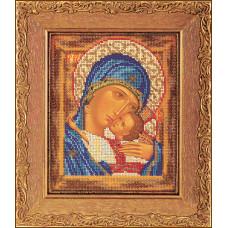 Набор для вышивания бисером Икона Богородица Умиление (В-181)