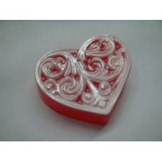Форма для мыла Викторианское сердце (VICHRT1295)