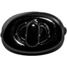 Застежка для сумки, черная (EVM-3549)