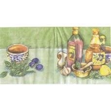 Салфетка Неповторимое оливковое масло (1282)