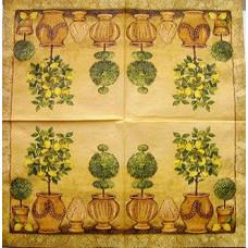 Салфетка Деревце лимона (1283)