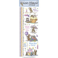 Наклейки House Mouse, Mice Party (HMSK-12)