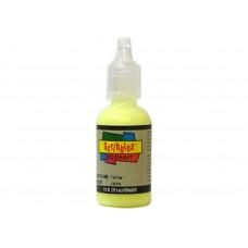 Акриловая светящаяся краска, желтый (SCL14709)