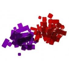 Набор мозаики, Красно-Фиолетовый, 2 цвета, 50 г, Acrylic  (963977)