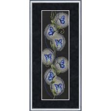 Набор для вышивания крестиком Золотое руно Бабочки (НА-008)