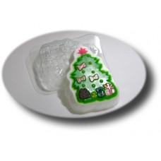 Форма для мыла Елочка с подарками