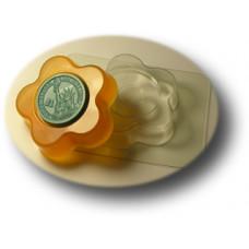 Глю-форма для мыла Цветок-круг