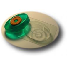 Глю-форма для мыла Овал-круг