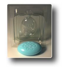 Форма для мыла 3D Узел долголетия (2 части)