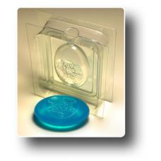 Форма для мыла 3D Снежинка (2 части)