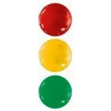 Набор цветных магнитов, 5 см. (KL-50)