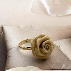 Кольцо Ажурная роза (C031)