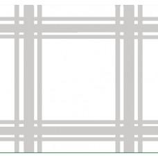 Салфетка белая с вставками для вышивки (0,72 х 0,72)