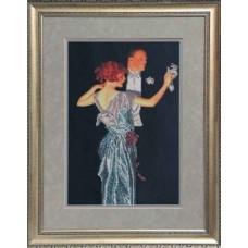Набор для вышивания бисером Краса і творчість Вальс (41010)