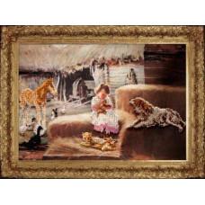 Набор для вышивания бисером Краса і творчість Маленькое счастье (90511)