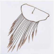 Ожерелье Маленькие пики (N1410)