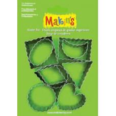 Набор форм для резки пластика 9 Pieces (37020)