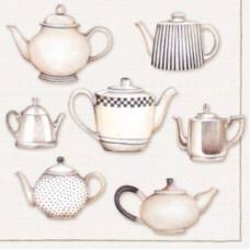 Салфетка Разнообразие чайников (1327)