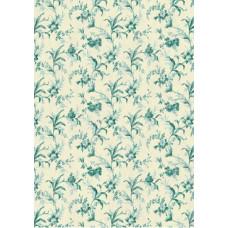 Бумага Весенние голубые цветы (Ш130) (242)