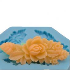 Молд силиконовый Цветочный орнамент 1 (108)