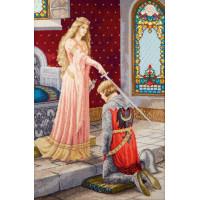 Набор для вышивания крестиком Чарівна мить Посвящение в рыцари (М-487 )