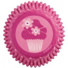 Бумажные мини-формы для кексов, Pink Party (W4150167)
