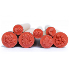 Набор резиновых штампов Цветы (097-1167668)