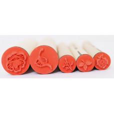 Набор резиновых штампов Розы (097-1161417)