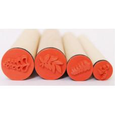 Набор резиновых штампов Листья (097-1163637)
