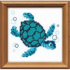 Набор для вышивания бисером Риолис Морская черепаха (1290)
