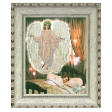 Набор для вышивания бисером Краса і творчість Ангел сна 1 (71211)